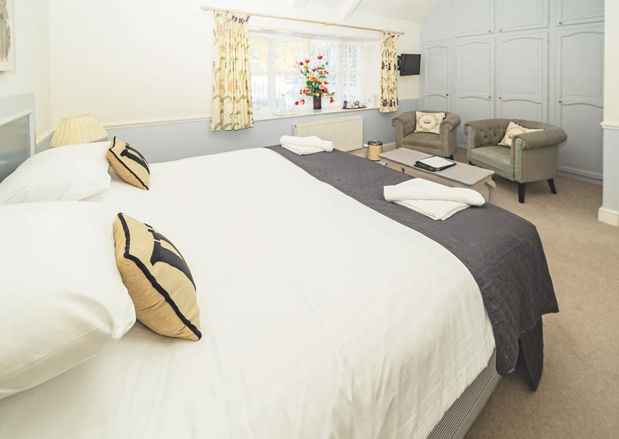 Spacious Superior Plus room at the Woodlands Hotel in Sidmouth